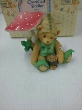 """Cherished Teddies #203041 RYAN """"I'm Green With Envy For You"""" figurine"""