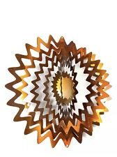 Iron Stop Small Star Splash Wind Spinner-Copper Color