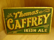 THOMAS CAFFREY  irish ale timber pub sign
