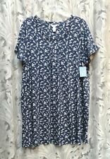 ADONNA SOFT 100% COTTON KNIT NIGHT SLEEP SHIRT NIGHTIE NIGHTGOWN~2X~3X~NEW