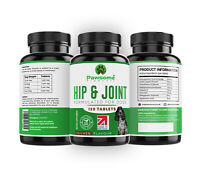 Pawsome Products® Hip & Joint Supplement for Dogs with Glucosamine x 120 Tablets