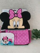 Disney Baby Minnie Mouse Mini Backpack Safety Harness Straps Toddlers Girls Bag