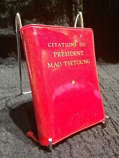 Citations du président Mao Tsetoung - Broché (214R12)