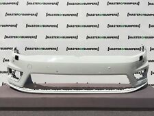 VW GOLF R LINE MK7 2012-2016 FRONT BUMPER IN WHITE GENUINE [V406]