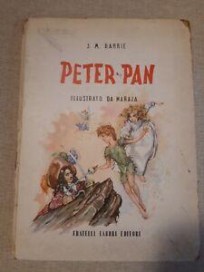 Peter Pan di J. M. Barrie illustrato da Maraja Fabbri editori 1953