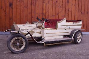 Karussellauto Antik Oldtimer Soli Auto Vintage Schausteller Kirmes Rummel 60er