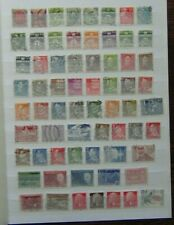 Denmark Middle Period range useful definitive and commemorative issues Used