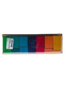 Grimm's Large Shapes & Colors Building Set - Stepped Blocks