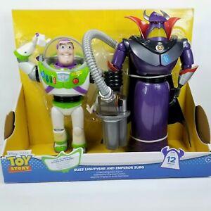 "Disney Toy Story 12.5"" Buzz Lightyear 14"" Emperor Zurg Talking Action Figure NEW"