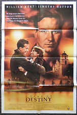 A TIME OF DESTINY 1988 ORIGINAL 1 SHEET MOVIE POSTER WILLIAM HURT TIMOTHY HUTTON