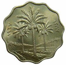 (D19) - Irak Iraq - 10 Fils 1967 - Palme Palm - UNC - KM# 126