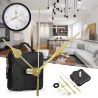 Gold Long Hands DI Quartz Clock Movement Spindle Mechanism Repair UK W New