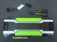 Nvidia Tesla M60 16GB Dual GPU GDDR5 PCIE Server GPU Accelerator + Cable