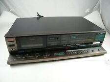 VINTAGE ~ AIWA ~ STEREO CASSETTE TAPE DECK MODEL # AD-S20 FOR PARTS OR REPAIR