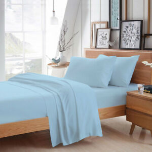 MISR Luxurious Solid Bedding Set 100% Egyptian Cotton 400 TC All Size,