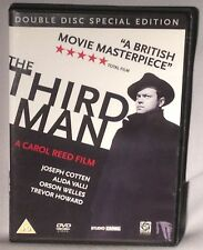 DVD The Third Man (ORSON WELLES, 2 Discs, 1949, Special Edn) PAL REGION 2 MINT