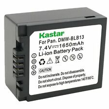 1x Kastar Battery for Panasonic Lumix DMW-BLB13 DMC-G1 G2 DMC-G10 DMC-GF1 GH1