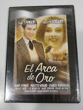 EL ARCA DE ORO DVD SLIM JAMES STEWART PAULETTE GODARD ESPAÑOL ENGLISH NEW NUEVO