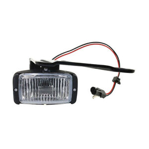 NEW RIGHT PASSENGER SIDE FOG LIGHT FITS GMC C1500 C2500 1988-1991 1992 GM2593106