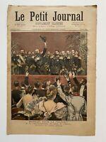 Supplément Illustré Le Petit Journal 11/11/1893, N°155, ADIEU AMIRAL AVELLAN