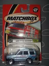 Matchbox #67 LAND ROVER DISCOVERY-STORM WATCH.