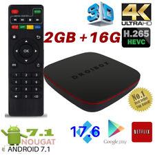 2018 Q Mini Quad Core 2GB+16GB Android 7.1 TV Box 4K K 17.6 HD Media Player WIFI