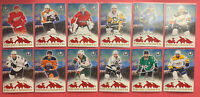 2018-19 OPC Coast To Coast Pride Of The North 12 Card Lot Mantha Holtby Oreilly