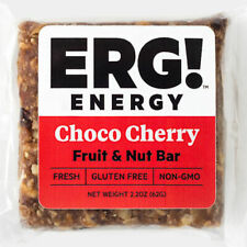 ERG! Energy Bars - 12 Choco Cherry Fruit & Nut Bars