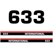 International 633 tractor decal aufkleber sticker set