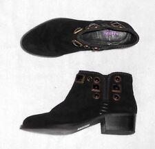 ANDRE low boots à enfiler cuir daim noir P 40 TBE