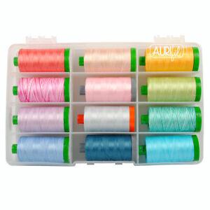 PARADIGM  AURIFIL THREAD SET 28, 40 & 50 wt large spool cotton thread