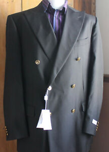 NWT  PAL ZILERI Double Breasted Wool Jacket UK46/EU56 - Made in Italy