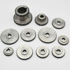 Gear Set For Amadeal 7 x 14 Real Bull Mini-Lathe CJ18A + 2 Speed Hi/Low Gear Set