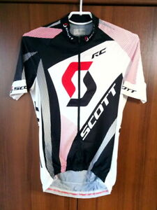 Scott RC Team Classic Bike Cycling Rad Trikot Shirt Jersey Full zip sz M
