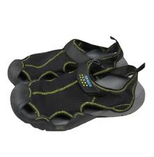 Crocs Swiftwater Mesh Deck Mens Sandals M 13 Slingback Lightweight Black 15041