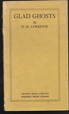 D H Lawrence - Glad Ghosts - 1st/1st 1926 - Scarce Limited Edition of 500 Copies