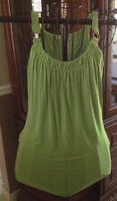Banana Republic Women's Sleeveless XSmall Green Top