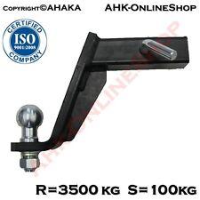 Anhängerkupplung AHK USA-Fahrzeuge Adapter tiefgezogen ISO 50 Anhängevorrichtung