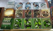 LOST seasons 1, 2, and 3 DVD