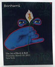 Bonham's The Art of Rock & Roll 2011 Auction Catalog