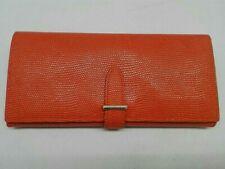 epoi GANZO long wallet orange