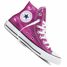 Scarpe da ginnastica rosa tessile Converse per donna