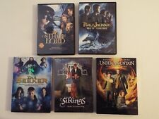 5 DVD-Siblings-NEW? Under The Mountain-Thief Lord-Seeker-Percy Jackson-Sea-Monst