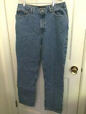 Size 14 Women's Ralph Lauren Green Label Blue Jeans Cotton 34x31