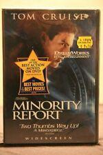 Minority Report (Dvd, 2002, 2-Disc Set, Widescreen) - New