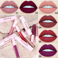 Women's Lip Gloss Waterproof Non-Stick Smudge-proof Matte Lip Gloss Lipstick