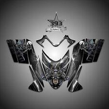 Polaris IQ RMK Shift Dragon Graphics Decal Wrap 2005-2012 Guardian Black