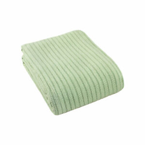 Cotton All Season Woven Bed Blanket