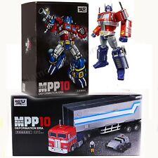 MPP10 WEIJIANG Transformers Optimus Prime + Trailer Gift Christmas Toy Autobot