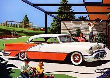 1956 Oldsmobile HOLIDAY 88 Hardtop, Refrigerator Magnet, 40 MIL
